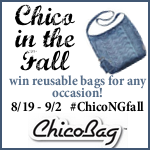 Chico Chico Bag Reusable Bags Collection Giveaway #chicongfall