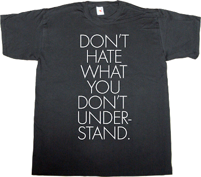 brilliant sentence hate t-shirt ephemeral-t-shirts