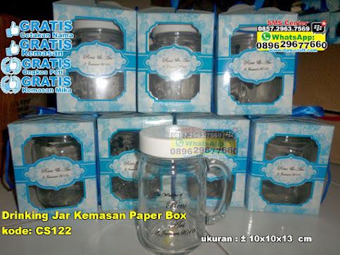 Drinking Jar Kemasan Paper Box murah