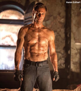 Aaron Eckhart as Adam in I, Frankenstein