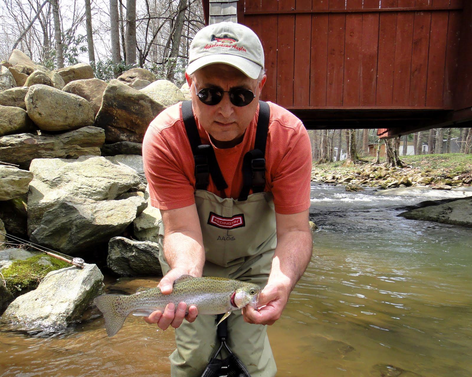 Appalachian angler fishing report may 5 appalachian angler for Oklahoma fishing report from anglers