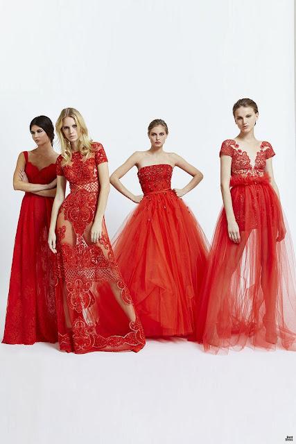 Colección de vestidos de moda Zuhair Murad