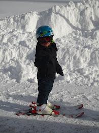 Primera esquiada Marc