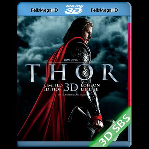 Thor (2011) 3D SBS 1080P HD MKV ESPAÑOL LATINO