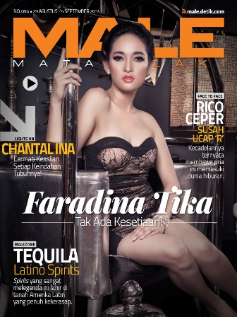 Download Gratis Majalah MALE Mata Lelaki Edisi 96 Cover Model Faradina Tika | MALE Mata Lelaki 96 Indonesia | Cover MALE 96 Faradina Tika| www.insight-zone.com