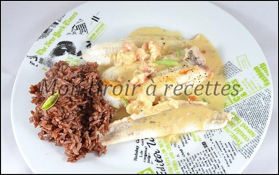 sauce aux langoustines
