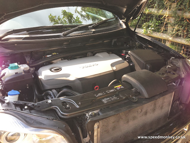 Volvo XC90 SE Lux engine