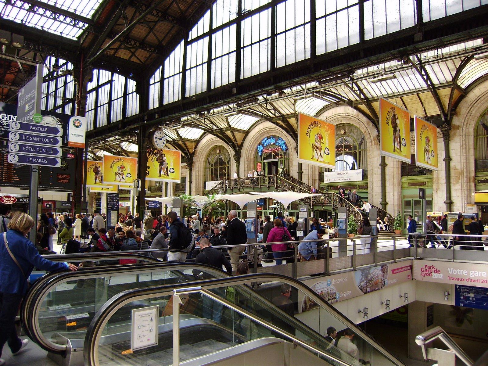 Jr 39 s retirement paris gare du nord for Gare du nord paris