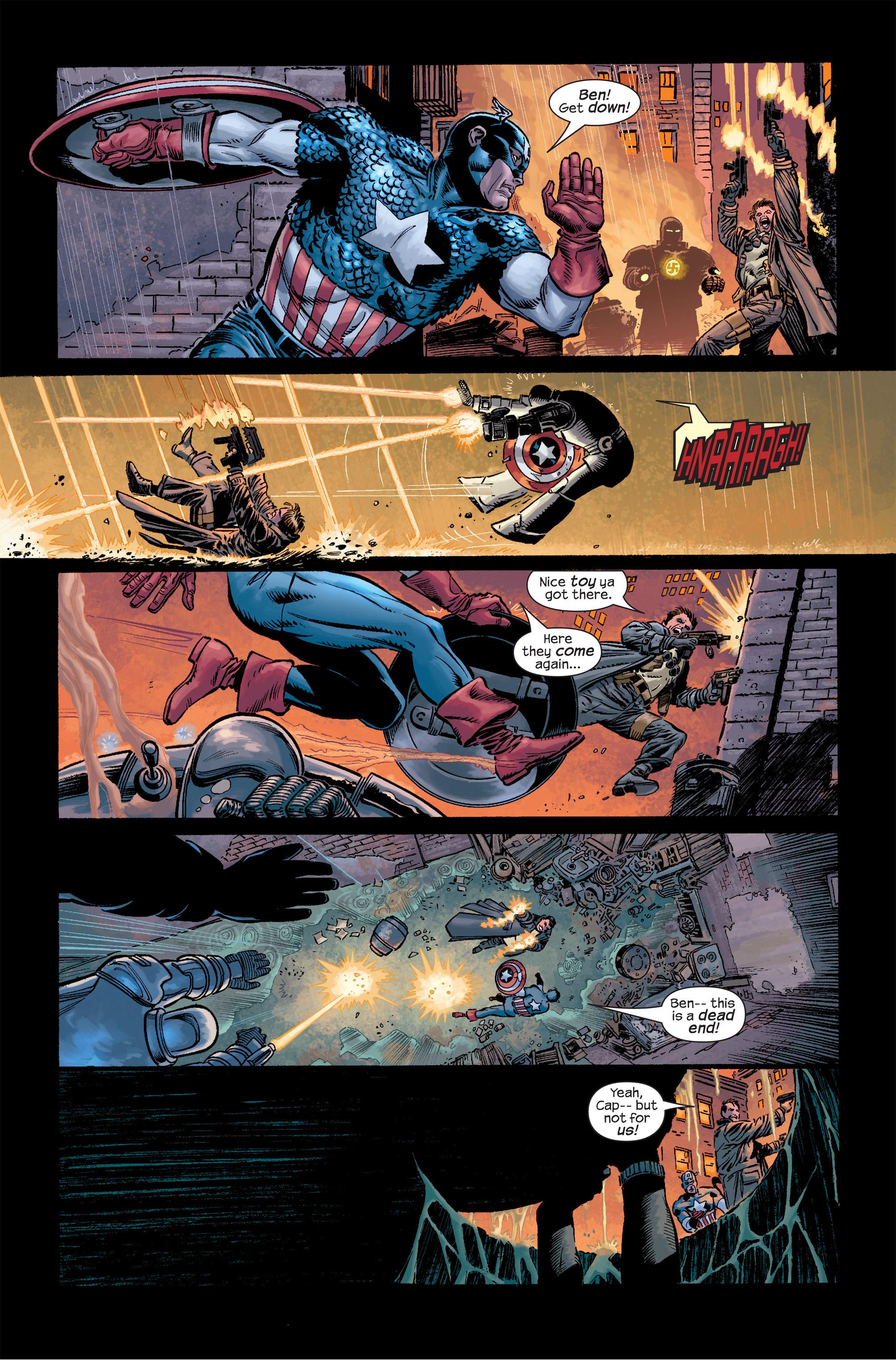 Captain America (2002) Issue #18 #19 - English 16