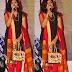 Singer Sumangali in Black Churidar