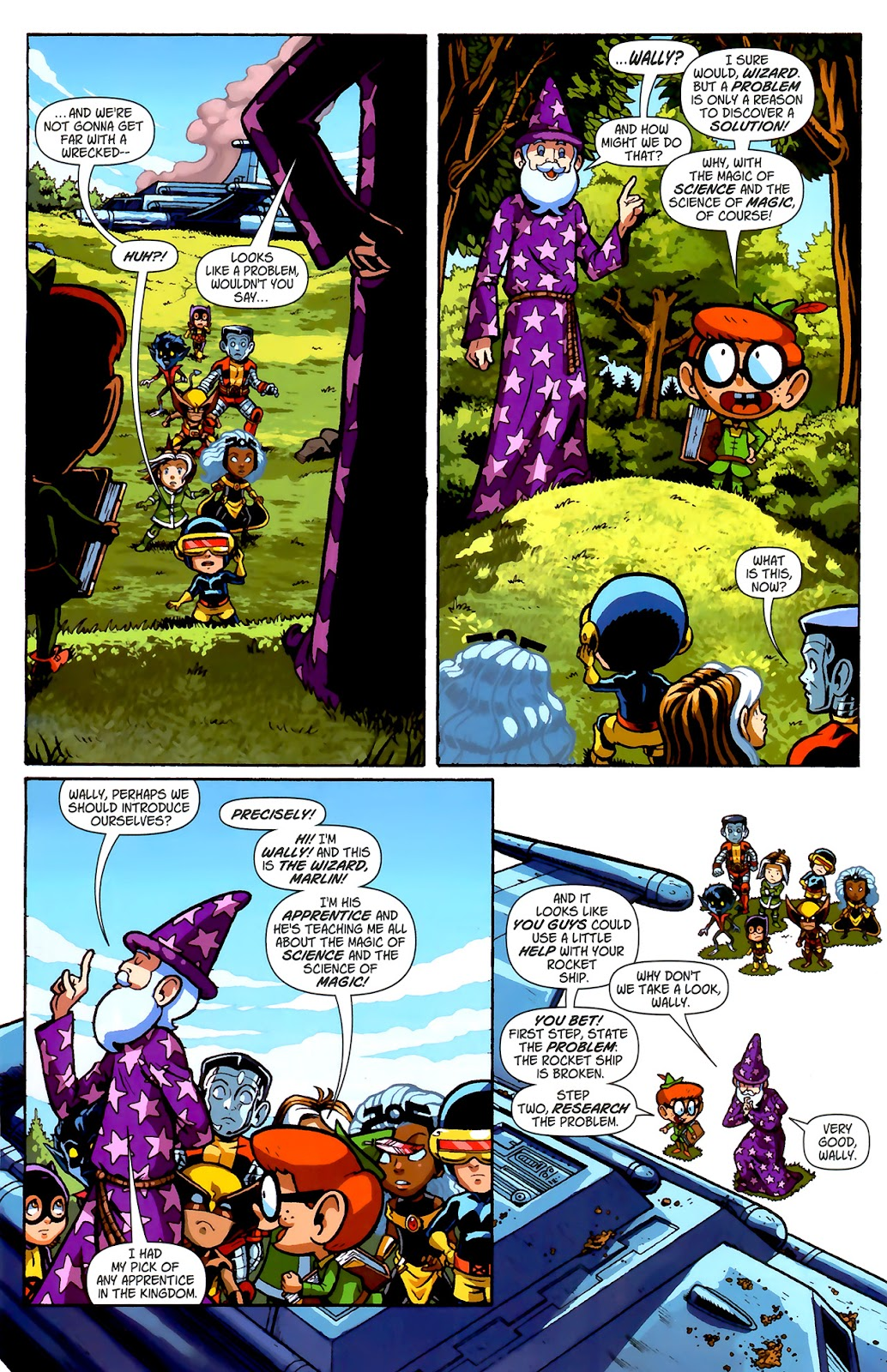 Read online X-Babies comic -  Issue #2 - 14
