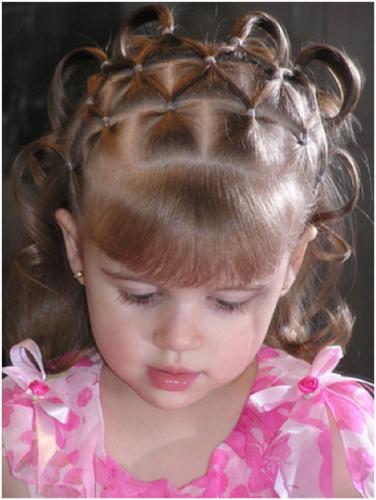 Красивые стрижки для детей девочек