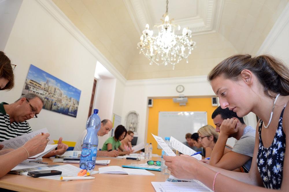 Nauka języka angielskiego w szkole Maltalingua