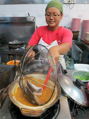Jay Bee Garden Curry Fish Head Johor
