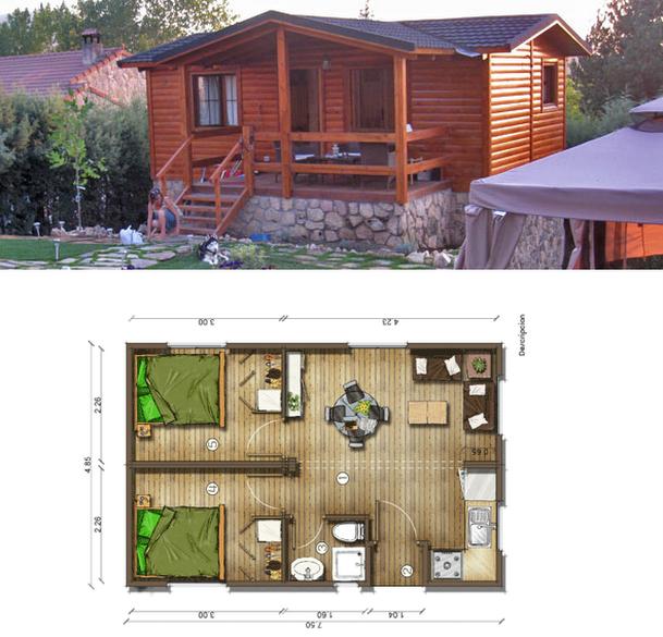 Planos de casas peque as planos peque os inteligentes for Planos de construccion de casas pequenas