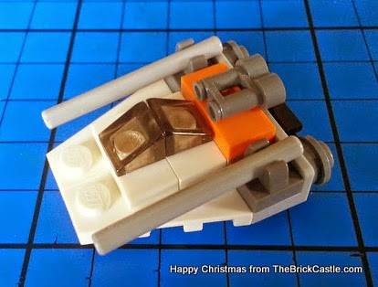 The LEGO Star Wars Advent Calendar Dec 15 speeder