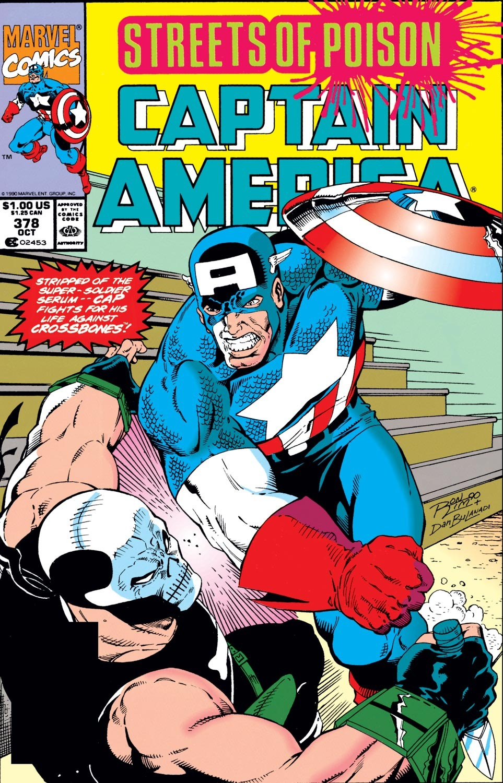 Captain America (1968) Issue #378 #311 - English 1