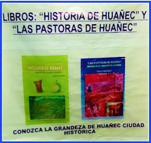LIBROS SOBRE HUAÑEC