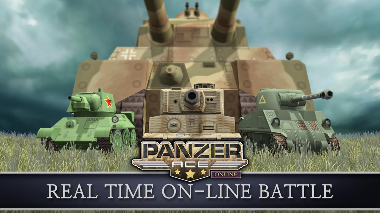 Panzer Ace Online Gameplay IOS / Android
