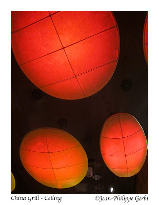image of Ceiling at China Grill, midtown, NYC, New York
