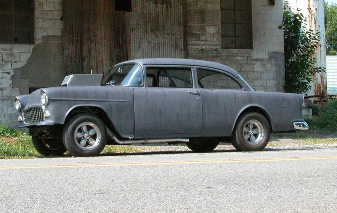 Muscle Car History: Two Lane Blacktop 55 Chevy Sold ...