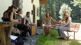 Atelier folk avec Stephan Steiner et Katharina Rogalli / photo S. Mazars