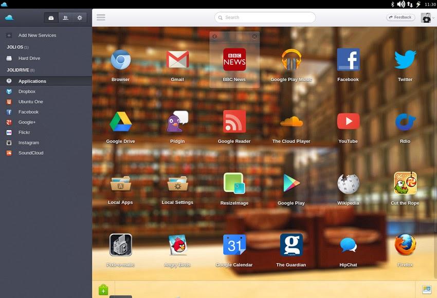 Install the desktop interface Jolicloud on Ubuntu
