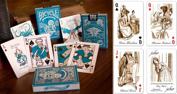 Barajas de Cartas en el post de los 10 regalos frikis que encantarán a los amantes de la literatura