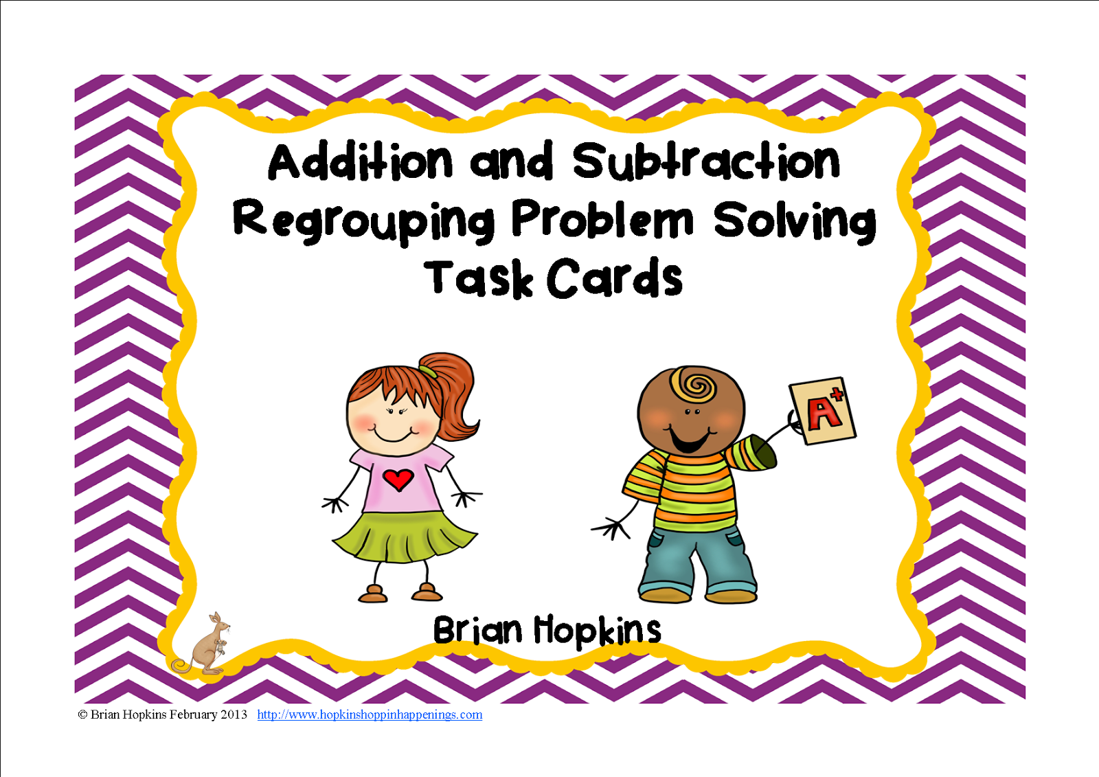 http://www.teacherspayteachers.com/Product/Addition-and-Subtraction-Regrouping-Word-Problem-Task-Cards-2OA1-585755