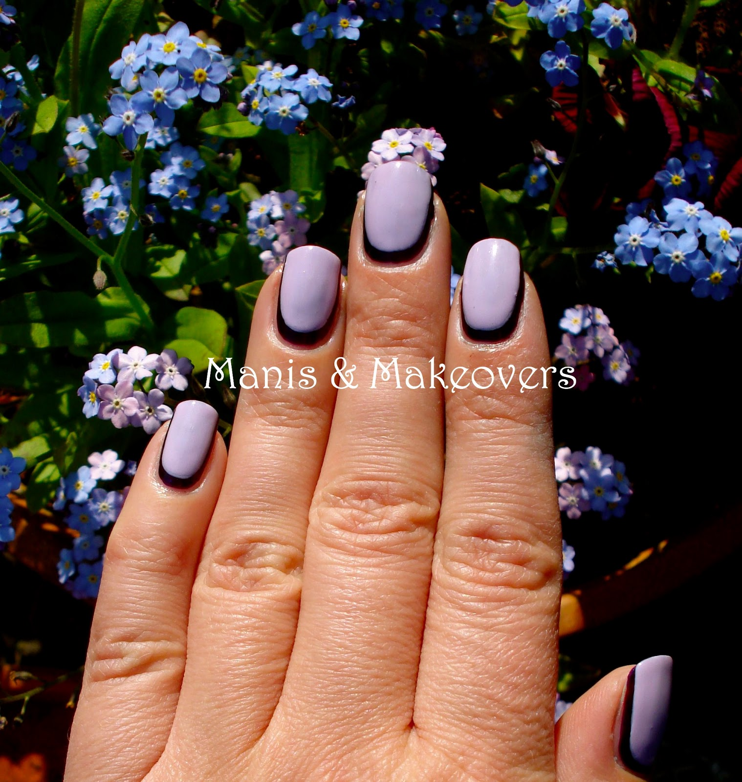 manis & makeovers: how to make your short nails look longer: the