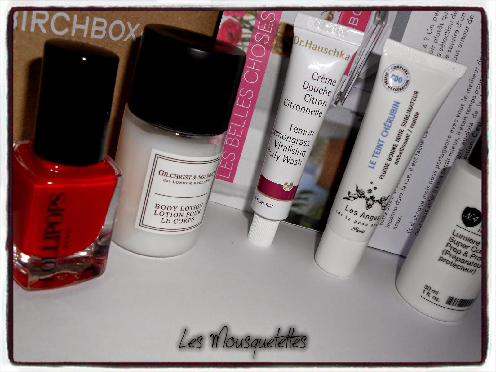 Birchbox octobre 2014 Les Belles Choses - Les Mousquetettes©