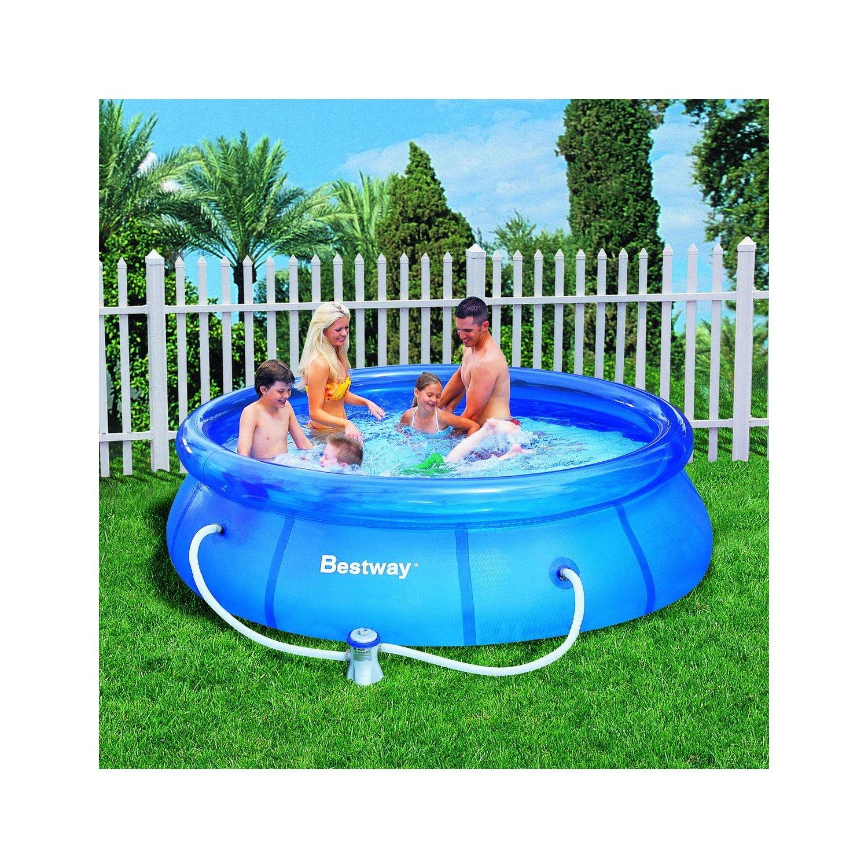 Schwimmbäder und Whirlpools: Bestway 57109GS - Fast Set Pool 305 x ...