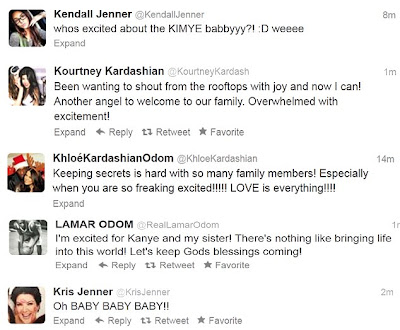 kardashian latest twits
