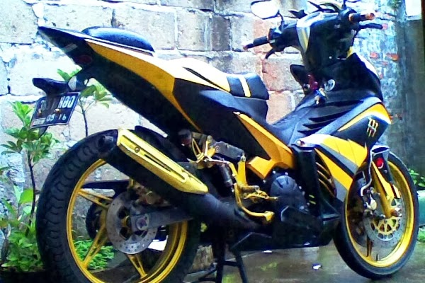 Modifikasi Motor New Jupiter MX Terbaru