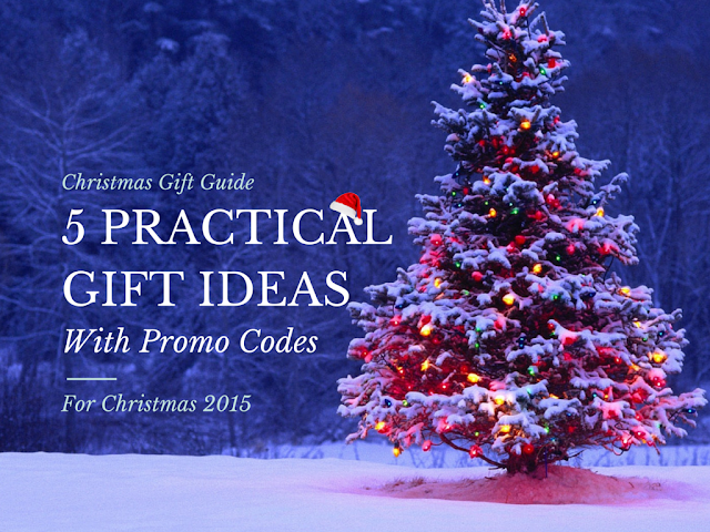 5 Practical Gift Ideas (WITH PROMO CODES) for Christmas 2015