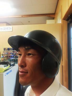 ドライカーボン野球ヘルメット