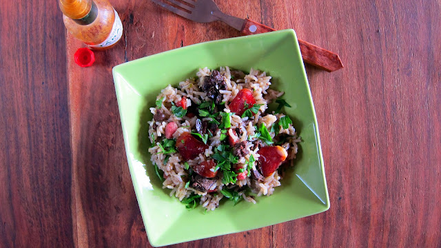 Pressure Cooked Dirty Rice One Pot Meal