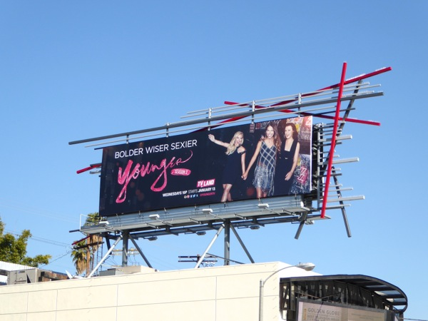 Younger season 2 billboard