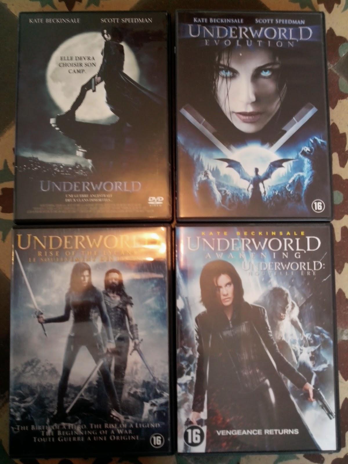 Divers DVD a vendre Underworld
