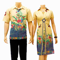 sarimbit batik dress