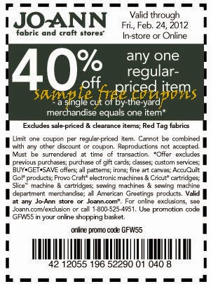 Joanes coupons