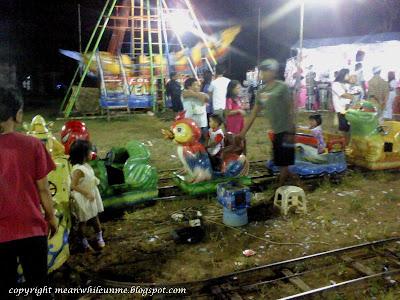 Suasana Pasar Malem