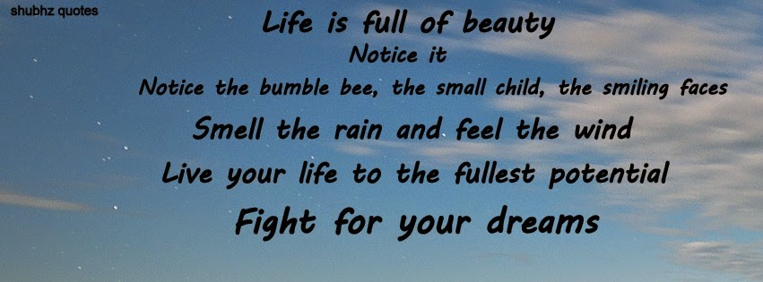 Facebook Timeline Covers Life Quotes. U0027