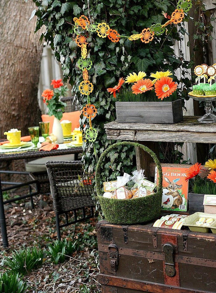 Easter Party Ideas: Peter Cottontail's Secret Garden Inspired Party