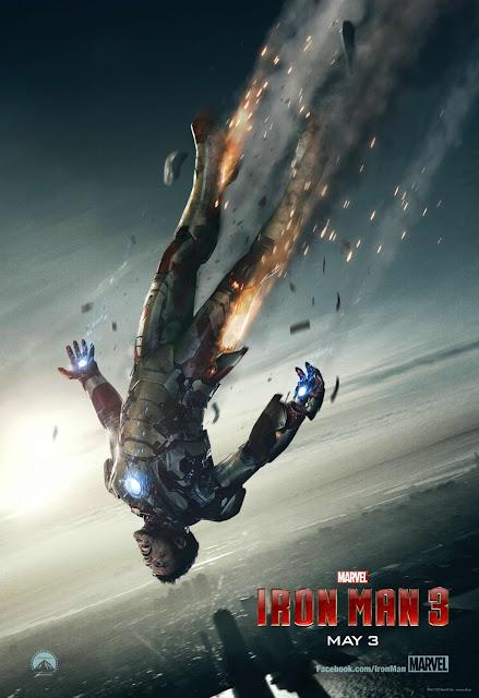 Novo Poster Homem de Ferro 3