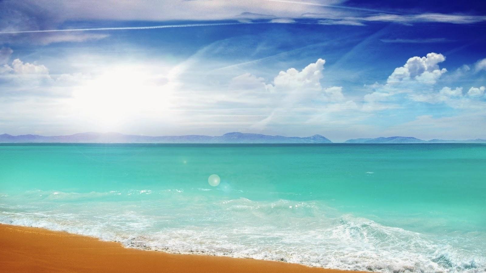 Nature Summer Beach Wallpaper