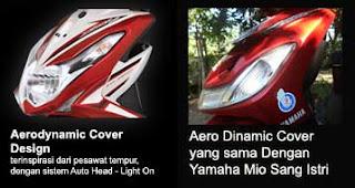 Aerodynamic cover new Xeon RC vs Mio Sporty