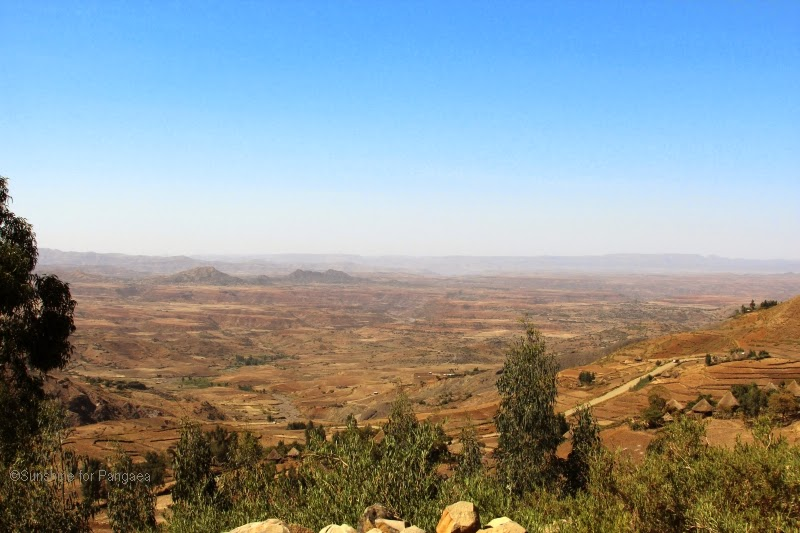 Sky over the Ethiopian Highlands