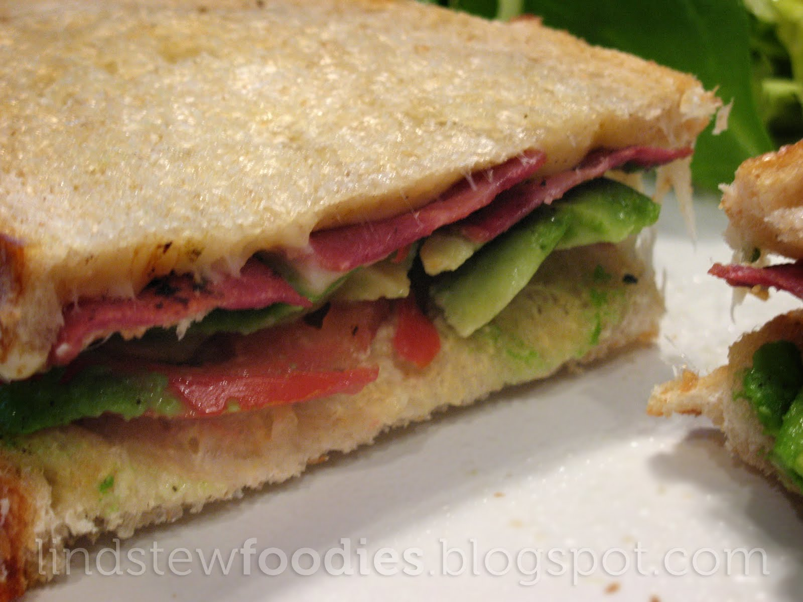lindstew foodies : :: Grown-up Grilled Cheese Sandwich