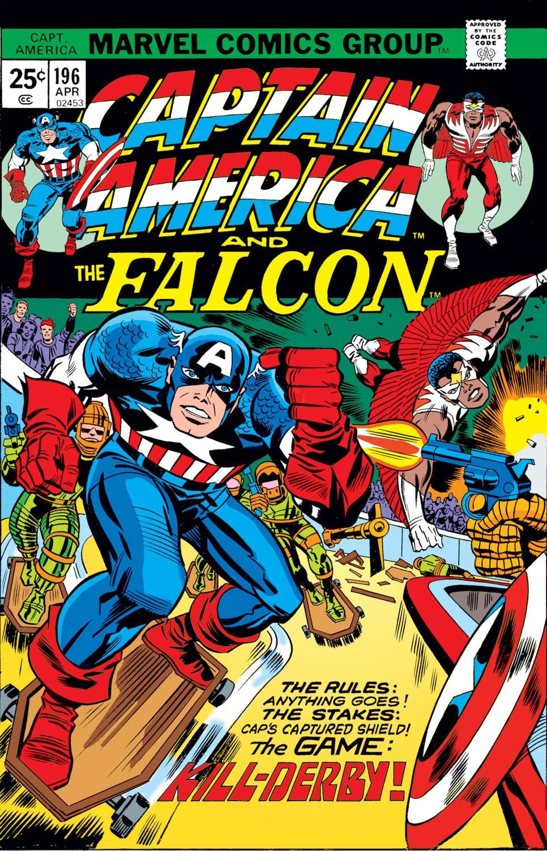 Captain America (1968) Issue #196 #110 - English 1